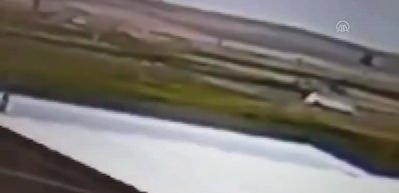 Nevşehir'de 7 kişinin öldüğü kaza anı kamerada!