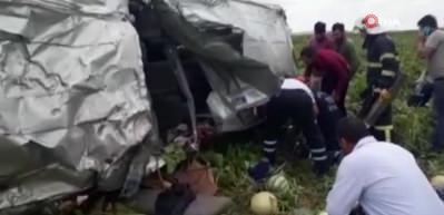 Nevşehir'de katliam gibi kaza! Ölü ve yaralılar var