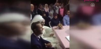 Nikah memuru gelinin cevabı ile düğünü terk etti