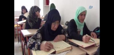 Ninelerin Kur'an-ı Kerim aşkı