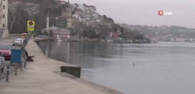 Korona virüs nedeniyle Kuleli sahil boş kaldı