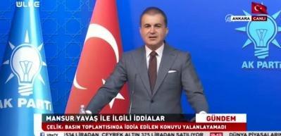 Ömer Çelik, Mansur Yavaş'a resti çekti: Sakın bunu yapmasın...
