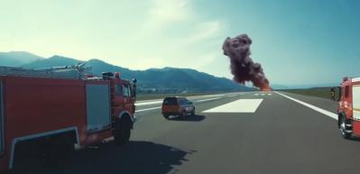 Ordu-Giresun Havalimanı'nda nefes kesen görüntüler