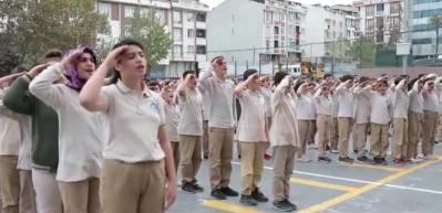 Ortaokul öğrencilerinden Barış Pınarı Harekatına destek klibi