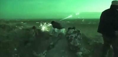 ÖSO ile YPG/PYD arasında yaşanan çatışma anları kamerada!