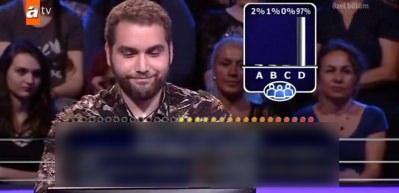 Öyle bir soruyu seyircilere sordu ki!