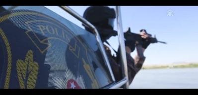 Özel harekat polisleri nefes kesti!