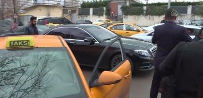 Özhaseki'den taksi durağı ziyareti