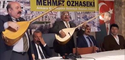 Özhaseki'ye desteklerini böyle ilan ettiler