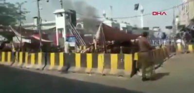 Pakistan'da patlama! 9 ölü 24 yaralı