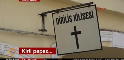 Papaz Brunson PYD'li teröristleri kutsamış!