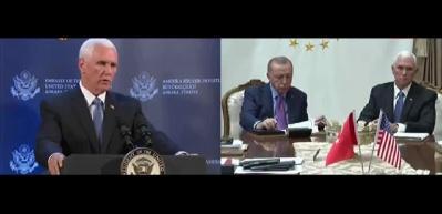 Pence açıkladı: YPG çekilmeye başladı