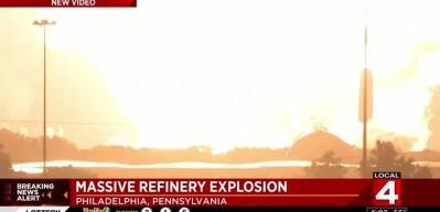 Pensilvanya'da büyük patlama