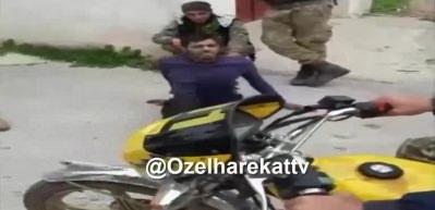 PKK'lı terörist Afrin halkının ihbarıyla böyle yakalandı