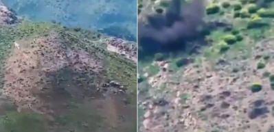 PKK'lı teröristler böyle havaya uçuruldu