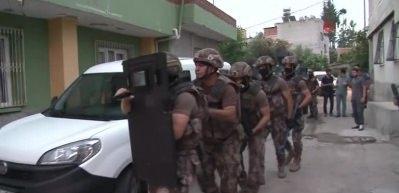 PKK'nın sokak eylemcilerine şafak baskını