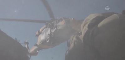 PKK'ya ait sığınak ve mağaralarda silah,mühimmat ve yaşam malzemesi ele geçirildi