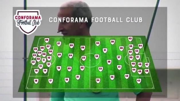 5 futbolcuya karşı 55 çocuk! Müthiş maç...