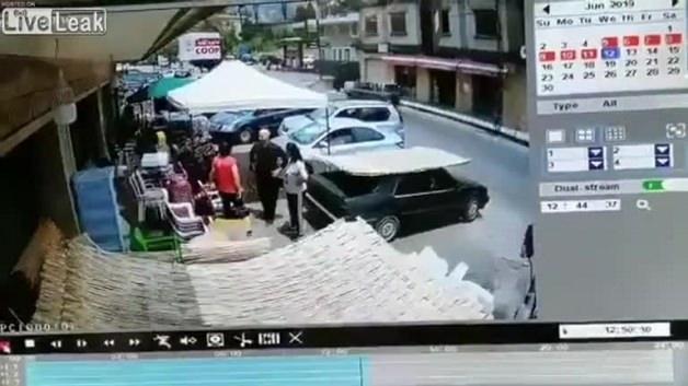 Kameralar saniye saniye kaydetti! Korkunç son