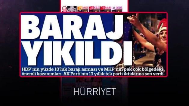 Bu manşetleri unutma! Sandığa git, Türkiye'ye sahip çık!