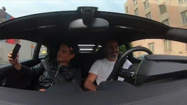Amerika'da 'Lamborghini'siyle UBER yapan Türk