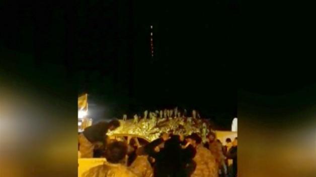 'Atak' helikopterin gece taaruzu kamerada