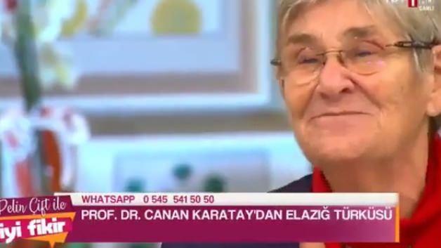 Canan Karatay türkü söyledi, sosyal medya yıkıldı