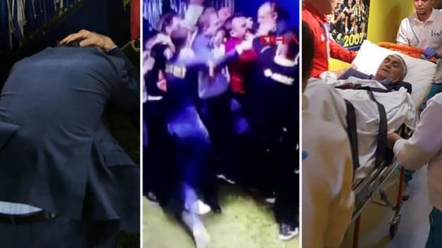 Fenerbahçe - Beşiktaş derbisinde olaylar