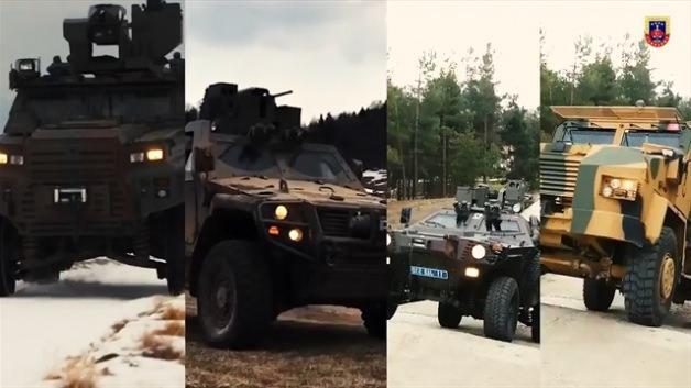 Güçlü araçlar, güçlü jandarma!