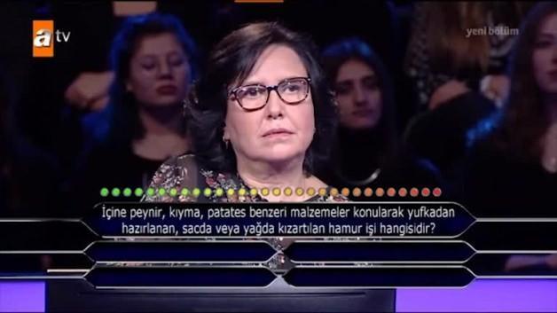 Kim Milyoner Olmak İster? yarışmasında bir ilk
