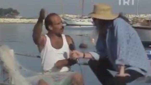 Merhum Cem Karaca'nın balıkçıyla komik anları