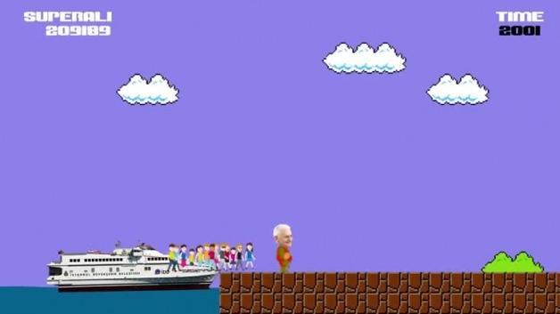 Süper Mario ile Binali Yıldırım'ın müthiş kariyeri