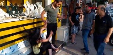 Polis diye bağırdı ama... Genç kadın yakalandı!