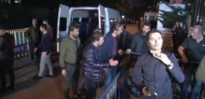 Polis Konsolos'un konutuna girdi