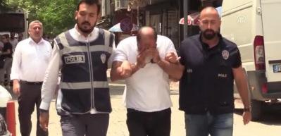 Polisin dikkati sayesinde yakalandı: Suç makinesi çıktı