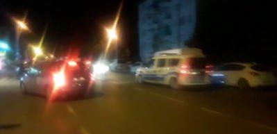 Polisle uyuşturucu taciri arasındaki kovalamaca kamerada