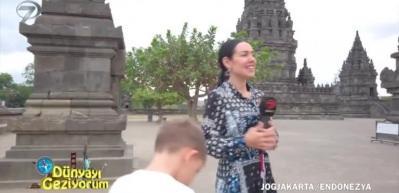 9. yüzyıldan kalma Prambanan Tapınağı