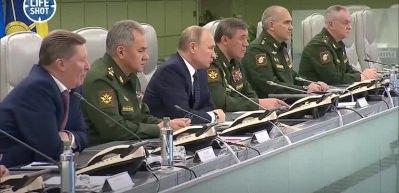 Putin Avangard'ın düğmesine bastı: Meteor gibi yok edecek