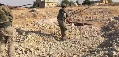 Rasulayn ve Tel Abyad'da EYP temizliği devam ediyor