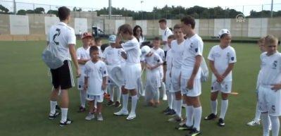 Real Madrid'in yeni yıldızları Antalya'da yetişecek