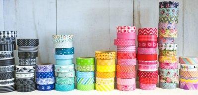 Renkli bantlarla evinizi dekore edin!