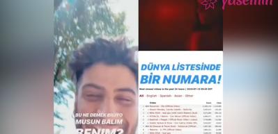 Reynmen Türkiye ve Dünya listelerini salladı! Listede ilk Türk şarkısı...