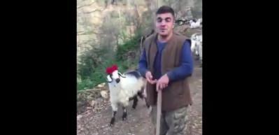 Rizeli çoban interneti salladı!