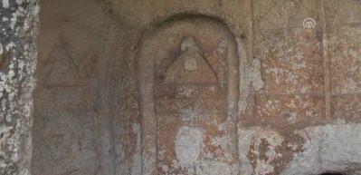 Roma dönemi kaya mezarları turizme kazandırılacak