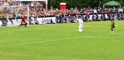 Ronaldo Juventus'taki ilk golü için 8 dk bekledi
