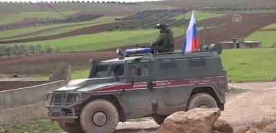 Rusya ve terör örgütü YPG ortak devriyede!