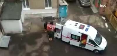 Rusya'da korona virüsü şüphesiyle 2 kişi hastaneye kaldırıldı