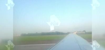 Rusya'da yolcu uçağı kuş sürüsüne çarptı! 23 yaralı