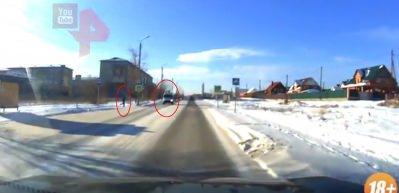 Rusya'daki feci kaza şok etti! Saniyeler içinde felaket