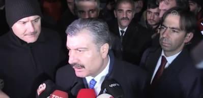 Sağlık Bakanı Koca - Depremde hayatını kaybedenlerin sayısı 19'a yükseldi